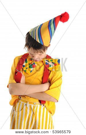 Resentful Clown Boy