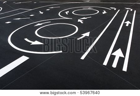 Signing and pavement-marking