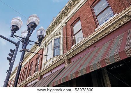 Small Town Main Street Facade