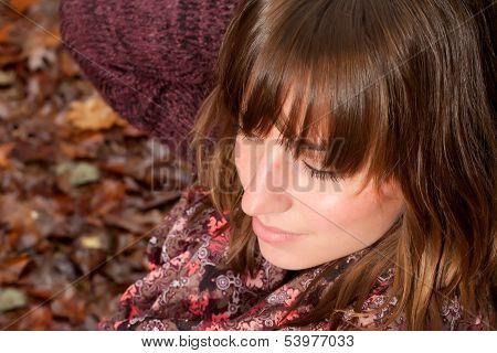 Cosmetic Autumn Girl