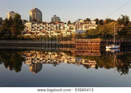 False Creek , Vancouver Reflection, Dawn