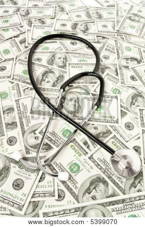Medicine Concept. Stethoscope