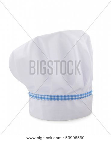 Chef hat isolated on white background