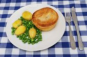 Pie And Veg poster