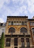Art Nouveau Building In Brussels