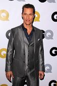 LOS ANGELES - NOV 12:  Matthew McConaughey at the GQ 2013
