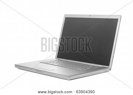 Laptop with gray screen