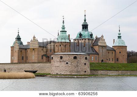 Detail of Kalmar castle in the south eastern Sweden