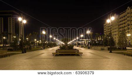 night Baku