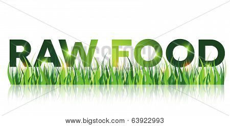 Green Raw Food Message