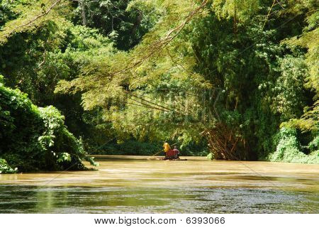 Rafting In Jamaica