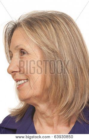 75 year old senior citizen