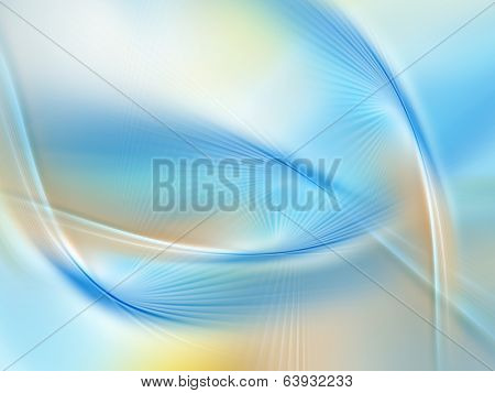 Abstract yellow blue background