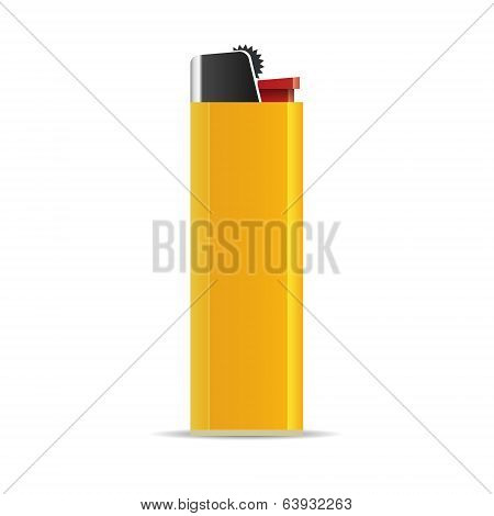 Lighter isolated. Vector