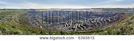 Panorama von Erz Bergbau und die Verarbeitung enterprise