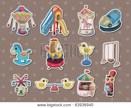 Playground Stickers