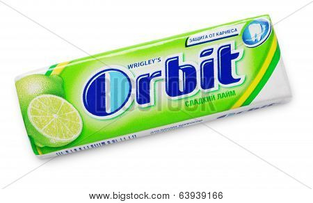 Chewing Gum Orbit Lime