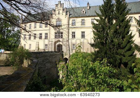 Castle Hruba Skala in Czech Republic