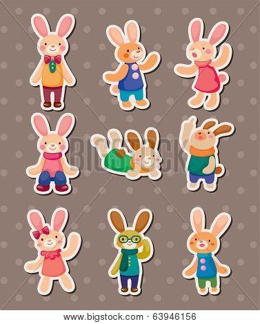 Rabbit Stickers