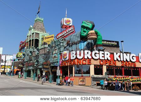 Centre Street At Niagara Falls Canada