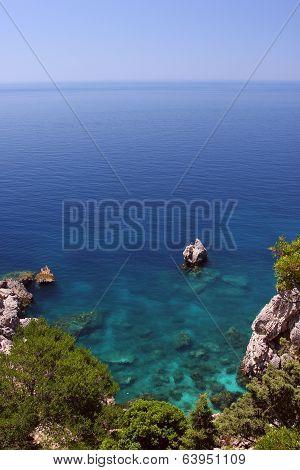 Turquoise Seascape