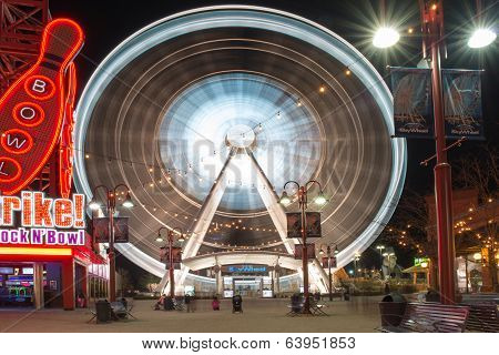 Skywheel In Niagara Falls, Canada