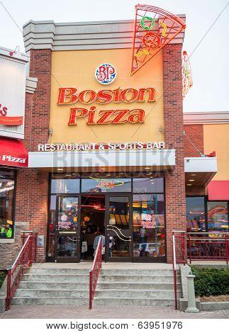 Boston Pizza Entrance