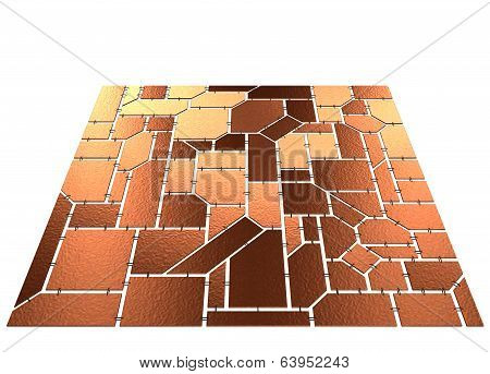 Brown Tilt Mosaic
