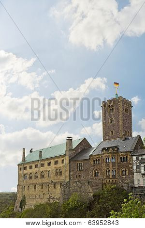 medieval Wartburg Castle in Eisenach, Germany