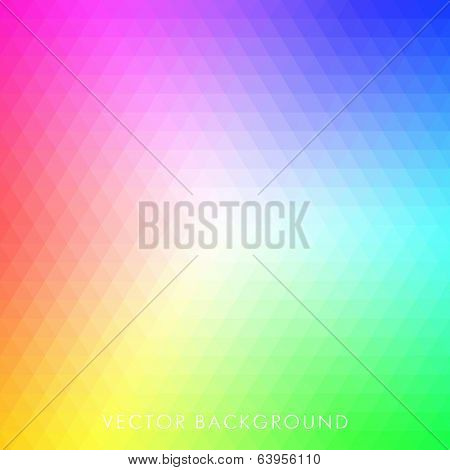 Vector Abstract Triangle Background.. Pattern of geometric shapes.Texture with flow of spectrum effect. Geometric background.