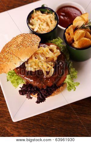 Juicy Beef Burger