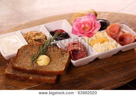 Full Continental Breakfast