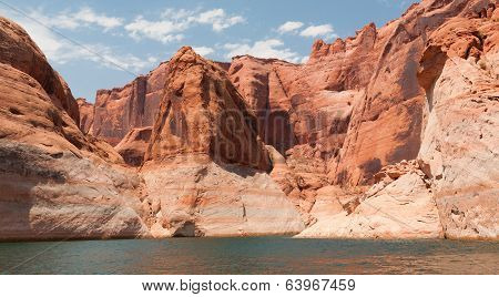 Large Lake Powell Rock Formations