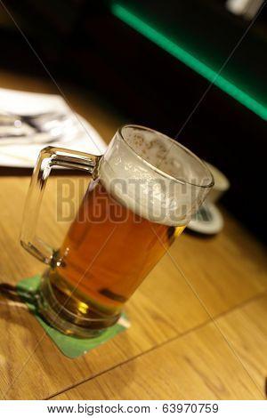 Glass Of Czech Beer