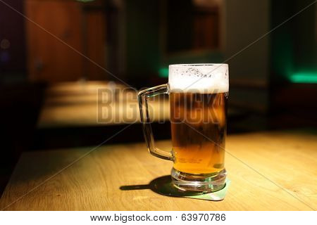 Pint On A Table