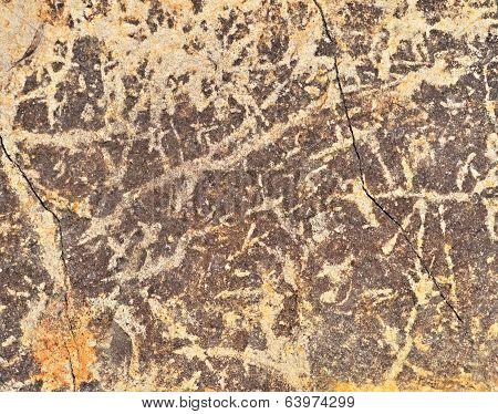 Scraped Plaster Wall