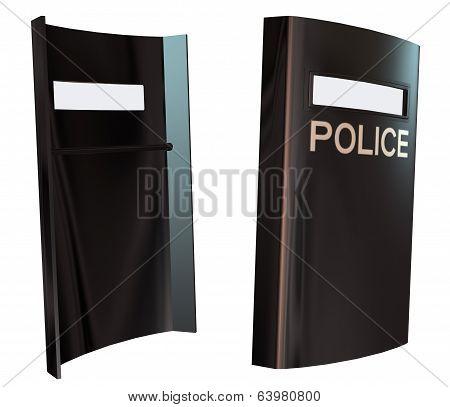 3D Police Shield