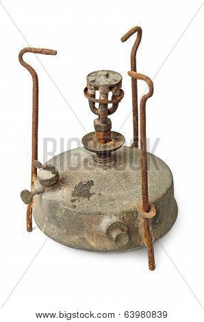 Rusty Kerosene Stove