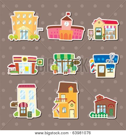 House And Shop Stickers