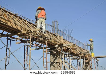 Fabrication of Reinforcement Bar and Formwork