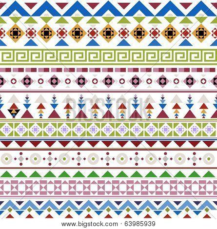 Colorful Retro Geometrical Patterns