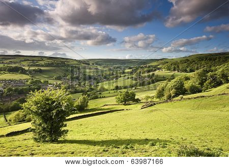 Luddenden valley, Calderdale