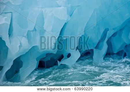 Giant Iceberg in Svalbard