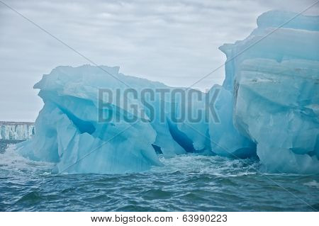 Giant Iceberg in Svalbard