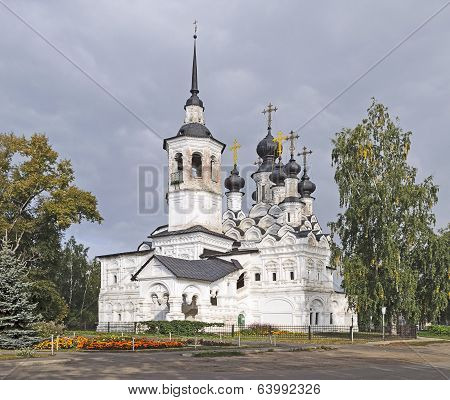 Ascension Church In Veliky Ustyug