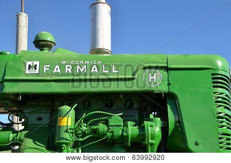 Farmall Tractor in John Deere Colors