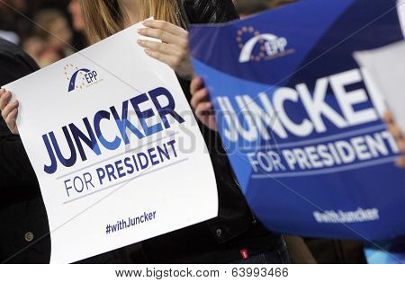 European Election Campain Epp Juncker