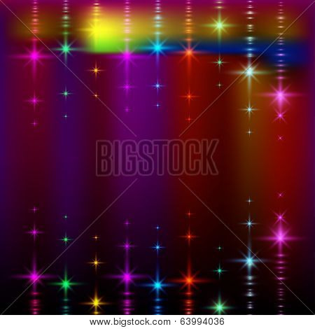 abstract lights, blurred pattern.