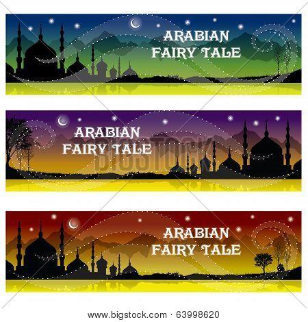 Mosque. Arabian Fairy Tale