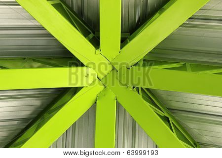Steel Green Girders